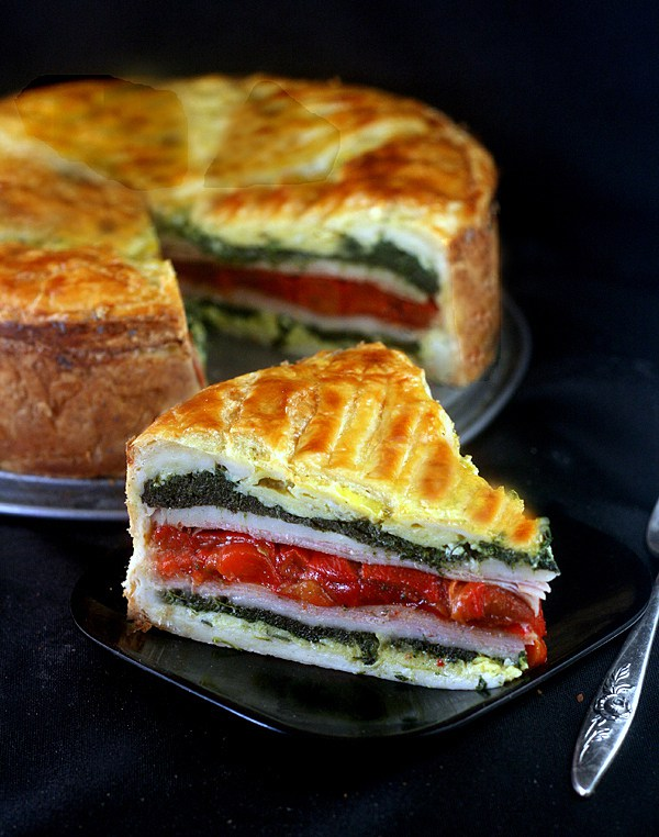 Tourte Milanese – A Meal en Croute by Parsley Sage Sweet